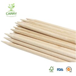 "Candy Apple Sticks 100PC pesado Natural pincho de madera de abedul para Niños 5.5"" x 3/16 Diametercaramel Candy Apple Palos, 100PC Natura"