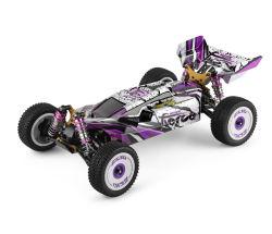 1: 12 электрический 4WD Racing фиолетовый RC скорость тележки