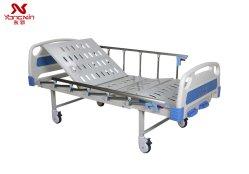Yx-D-3 (A3) do Hospital de manivela manual do leito do paciente, 2 Agitar Medical cama com colchão cama de cuidados de enfermagem para venda
