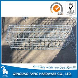 Cesta de la pared de acero galvanizado Gabion