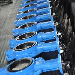 4-дюймовый полупроводниковых пластин типа двухстворчатый клапан сиденья кольцо двухстворчатый клапан рукоятки управления