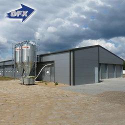 近代的な鋼鉄構造サンドイッチパネル養鶏場倉庫のための産業用羊のプリファブ設計