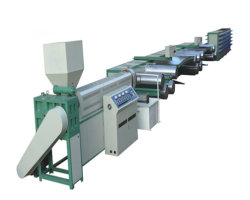 Dessin de fil en plastique de l'extrudeuse filament PP/PE Making Machine