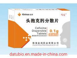 Granelli di Cefixime della fabbrica della Cina GMP/ridurre in pani superflui Cefixime di Cefixime per la sospensione