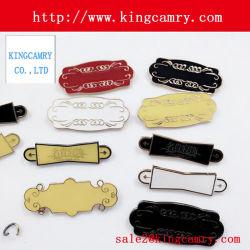 명찰 로고 금속 로고 또는 핸드백 부대 레이블 로고 또는 단화 로고 또는 의류 로고 또는 부대 로고