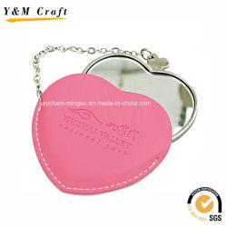 Centro de promoción el cuero pequeño espejo de maquillaje YM1151