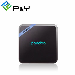 De androïde Doos 7.0 IPTV/Ott van de Doos van TV S905W 4K Androïde IPTV van Pendoo van de Speler van TV X8 Mini Arabische Androïde met de Vastgestelde Hoogste Androïde Doos van TV van de Doos Kodi Slimme