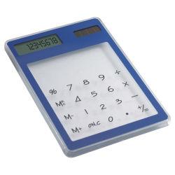 Écran tactile transparent calculatrice solaire avec logo personnalisé