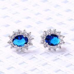 Promozione Gioielli in ottone con AAA Cubic Zircon & Fashion Main Colore pietra Moda orecchini