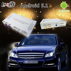 GPS van de auto de Androïde Interface van de Navigatie voor de cls-Klasse van Mercedes-Benz van het Jaar van 2014-2018 C218