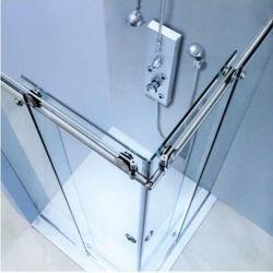 샤워실 샤워 부속품을%s 유리제 문 기계설비 적당한 부속품