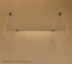 De duidelijke Vouwbare AcrylWacht van het Scherm van de Schoolbank van het Plexiglas van de Wachten van het Niesgeluid