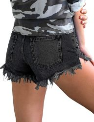 Van de Katoenen van de Broeken van vrouwen de Toevallige Broek van de Borrels van het Denim Sexy Leeswijzer van Jeans