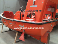 Solas-anerkanntes schnelles MarineRettungsboot mit innerem Motor