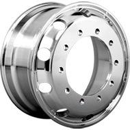 Llanta de aleación de carretilla de ruedas de acero de piezas de repuesto para semi-remolques