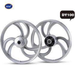 高精度 Dy100 モーターサイクルアルミホイールを製造した MW ホットセール工場