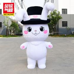 広告および昇進のための膨脹可能なプラシ天のウサギの漫画の性のおもちゃ ( BMCT2 )