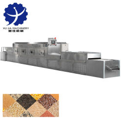 Alta Industrial Qualidade de grãos de microondas de microondas de alimentar o equipamento de secagem
