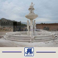 Bille de jardin fontaine en pierre de granit sculpture en marbre Fontaine à eau