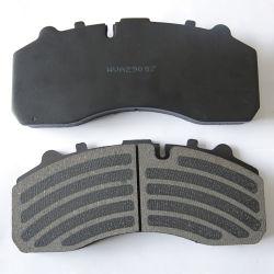 自動車部品Wva陶磁器29087 Wva29088及び半Volvo Scania Renaultトラックおよびバスのための金属ブレーキパッド