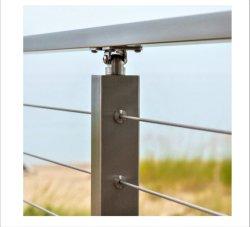 Het Traliewerk/de Balustrade/het Traliewerk van het Glas van de Leuning/de Balustrade/de Leuning van de Kabel van de Draad van het roestvrij staal