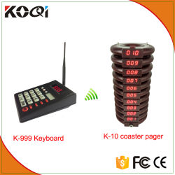Fast Food Restaurant Système client Coster Pager