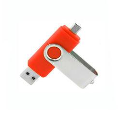 De Mobiele Telefoon Pendrive van de Flits OTG van de wartel USB 16GB
