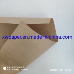 Papel Kraft Brown/Amarelo/branco/preto papel craft para sacos em papel kraft com pegas