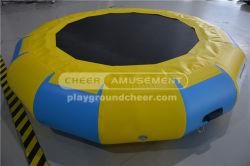مفرمة الهواء القابلة للنفخ Water Trampoline لاستخدام الحديقة المائية