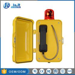 Resistente a umidade Telefone VoIP/SIP não perigosa para Undergrounds, Voz sobre IP Telephone