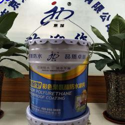 유성 두 배 구성요소 폴리우레탄 방수 코팅