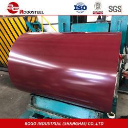 Dx51d SGCC Prepainted bobina de aço galvanizado/ Tata Steel retráctil preço Folha a folha de aço com revestimento de cor 0,4mm