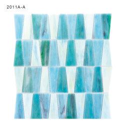 De gekleurde Premie Backsplash van de Tegels van de Mozaïeken van het Glas voor Woonkamer