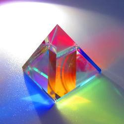 Optische Instrumenten van de Splitser van de Straal van het Glas van het Prisma van de Combine van het Prisma van de piramide de Optische Kleurrijke Heldere Lichte K9