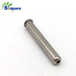 Sinpureは精密テストの器械のための単一の火炎信号の毛管管の端をカスタマイズした