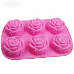 Seifenform aus OEM-Gummi Mit Rosen-Pudding-Kuchen