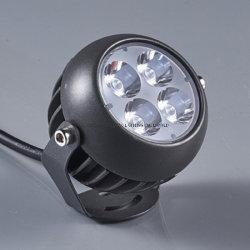 6W IP66 spot LED de plein air de lumière pour l'éclairage de jardin