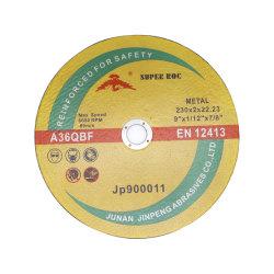 """9"""" 230X2.0X22 Metal Disco de corte de alta calidad Inox Rueda de corte"""