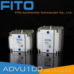 "Compacte Pneumatische Cilinder Van Air Products, 2-1/2"" Boring, 1-1/2"" Slag Asfhd212x112"