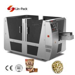 De roterende Automatische Multifunctionele Zak die van het Voedsel de Machine van de Verpakking van de Zak Premade verpakken