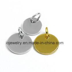 Custom Mode Bijoux en acier inoxydable 316 Étiquette du logo