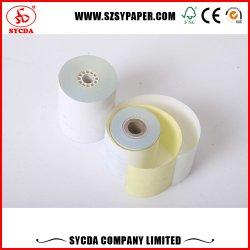 40-80g/m² rollos de papel autocopiante NCR