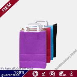 Для изготовителей оборудования на заводе Brownkraft бумажных мешков для пыли Логотип бумажных мешков для пыли плоской рукоятки