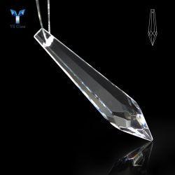 Banheira de venda de peças de cristal lustre de cristal pendente de vidro Acessórios de iluminação