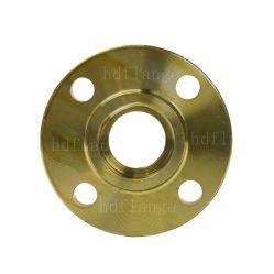 انزلاق فولاذ الكربون المصبوب من الفولاذ الكربوني المصبوب ANSI قياسي مصبوب يبلغ 150 رطلاً من الذهب الأصفر على شفة