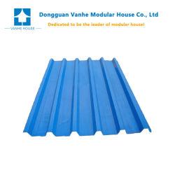 Blatt-Dach-Blätter isolierten Kurbelgehäuse-Belüftung galvanisiertes gewelltes Stahldach-Blatt Guangdong