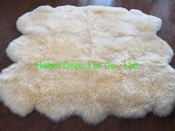 Une véritable peau de mouton australien Double Quarto Sexto Octo Pelt tapis