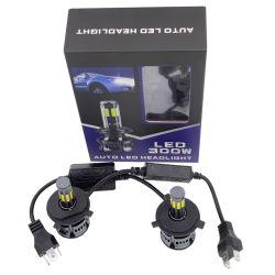 2PCS H15 H16 H11 Bombilla LED de luces de niebla 9006/HB4 9005/Hb3 H4 H7 H8 P13W Fuente de luz LED de alquiler de la conducción de la luz de conducción 6000K