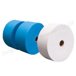 Materiale non tessuto del tessuto del rullo di SMS pp Spundbond SMS della mascherina