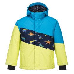 Aop van jonge geitjes Af:drukken/de Waterdichte In te ademen Afneembare Kap van /Windproof/ van het Jasje van de Ski